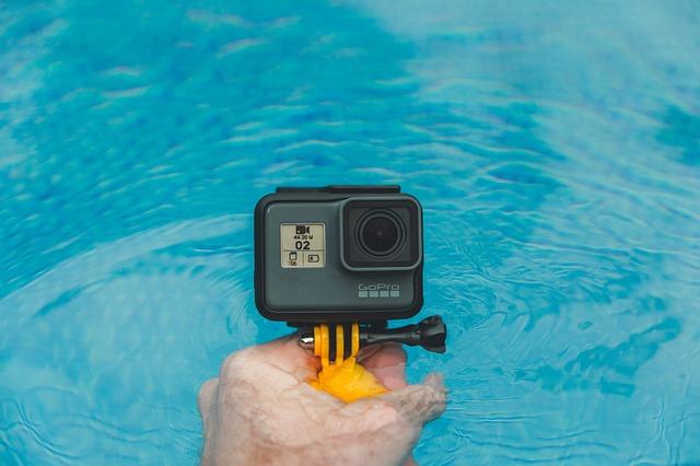 GoPro HERO6に新型充電式バッテリーを装着したときの連続撮影時間